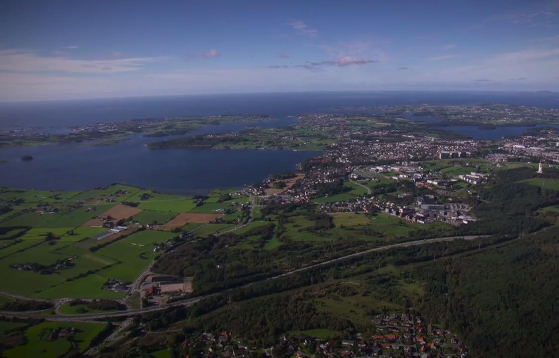 Luftbild Stavanger